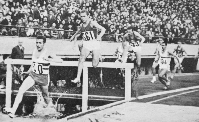 55 jaar geleden: Gaston Roelants wint goud op de 3000msteeple