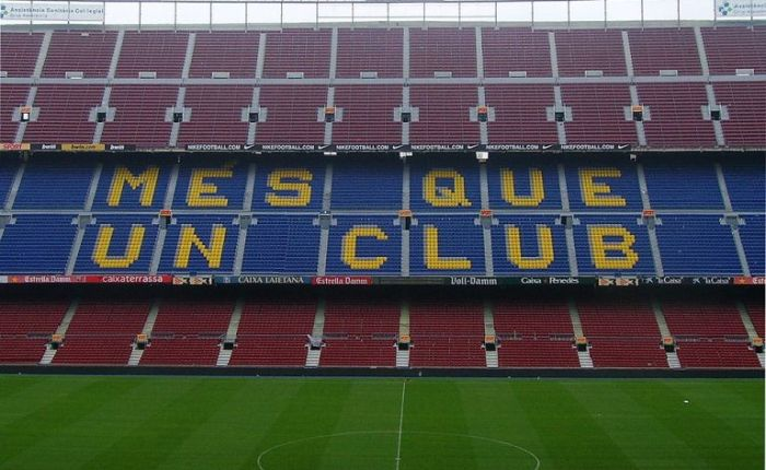 F.C.Barcelona viert 120steverjaardag