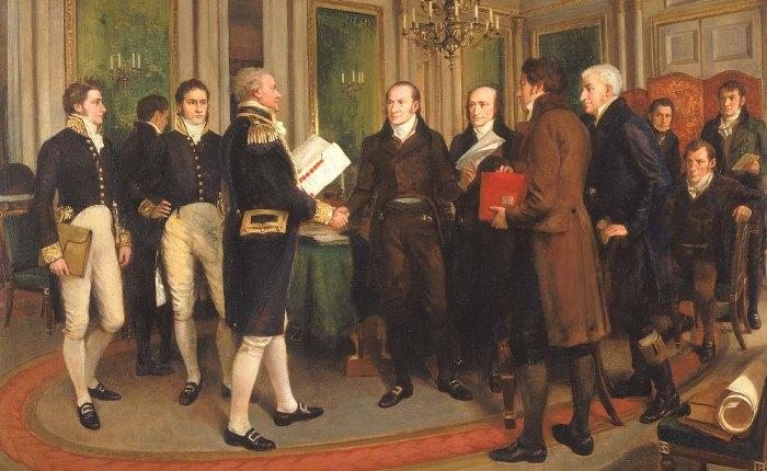 205 jaar geleden: de Vrede vanGent