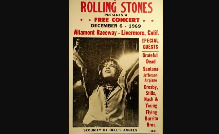 Vijftig jaar geleden: The Rolling Stones inAltamont