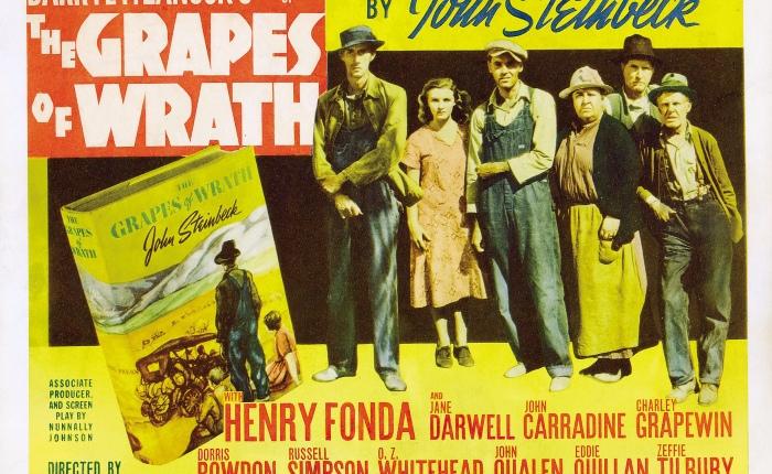 "65 jaar geleden: ""The grapes ofwrath"""