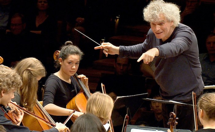 Simon Rattle wordt 65…