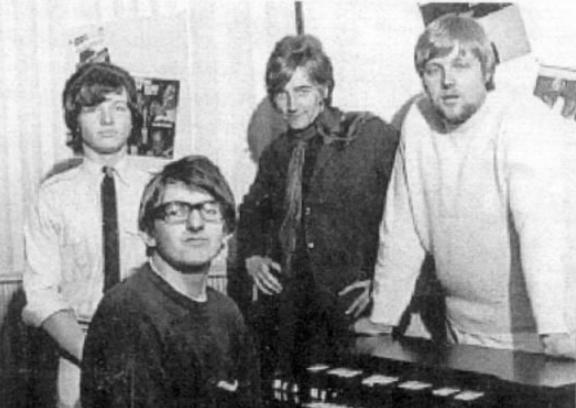 55 jaar geleden: Rod Stewart met The Soul Agents in de MarqueeClub