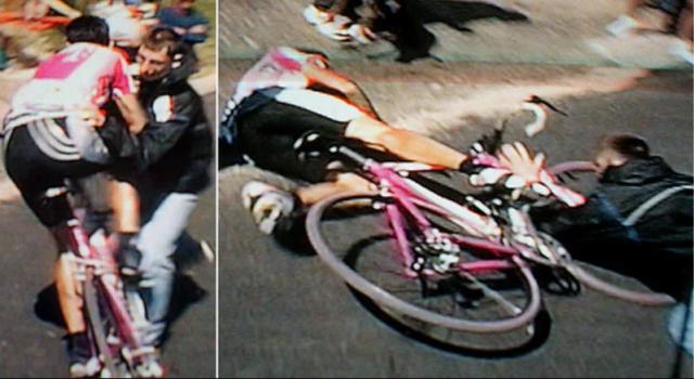 Twintig jaar geleden: Giuseppe Guerini ten val gebracht op Alpe d'Huez –  dagelijks iets degelijks