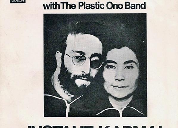 """Vijftig jaar geleden: release van """"Instantkarma"""""""