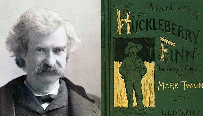 """135 jaar geleden: """"The adventures of HuckleberryFinn"""""""