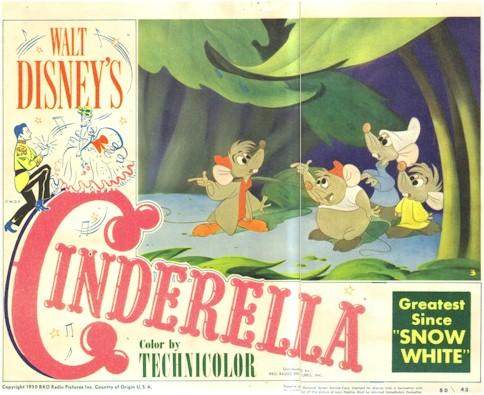 """Zeventig jaar geleden: """"Cinderella"""" van WaltDisney"""