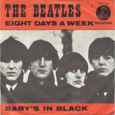 """55 jaar geleden: opname van """"Eight days aweek"""""""