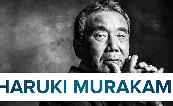 Haruki Murakami wordtzeventig