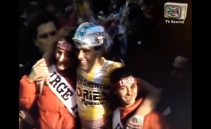 35 jaar geleden: Hennie Kuiper wintMilaan-Sanremo
