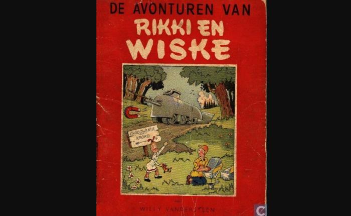 """75 jaar geleden: eerste stroken van """"Rikki enWiske"""""""