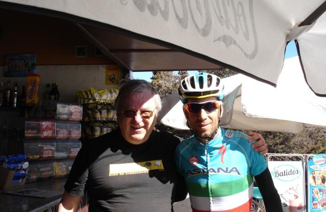 Vijf jaar geleden: ontmoeting met VincenzoNibali