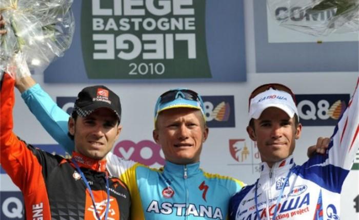 Tien jaar geleden: Alexander Vinokourov koopt Luik-Bastenaken-Luik