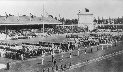 Honderd jaar geleden: opening van de Olympische Spelen vanAntwerpen