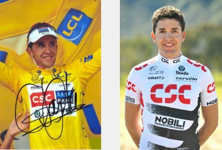 Tien jaar geleden: Carlos Sastre rijdt zijn ploegmaat Fränk Schleck uit hetgeel