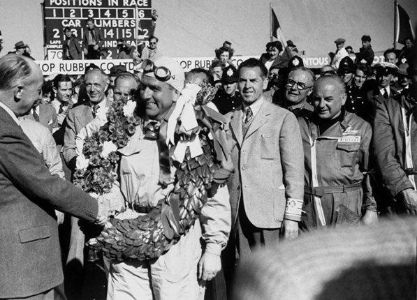 Zeventig jaar geleden: Giuseppe Farina wint de eersteF1-wedstrijd