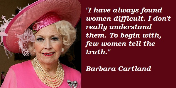Barbara Cartland (1901-2000)