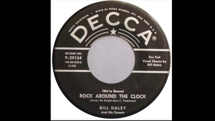 "65 jaar geleden: ""Rock around the clock"" op nr.1"