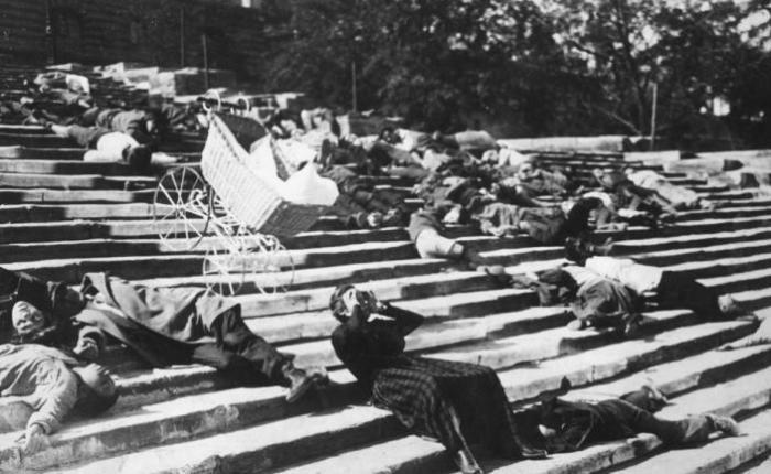115 jaar geleden: muiterij op de pantserkruiserPotemkin