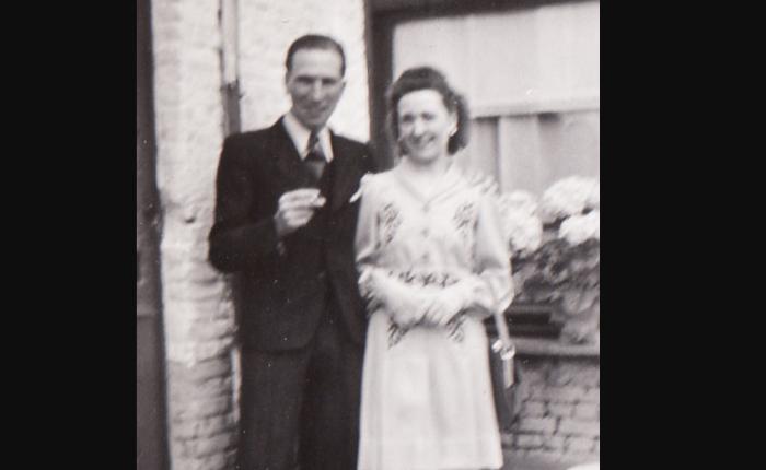 75 jaar geleden: mijn ouders verhuizen van de Schoolstraat naarCauwerburg