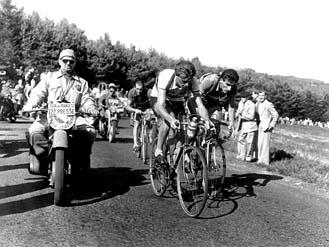 65 jaar geleden: Jan Nolten tweede na Fausto Coppi op Puy deDôme
