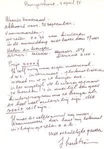 64 briefje van John Lundström