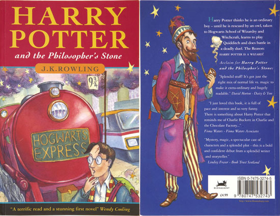 "Twintig jaar geleden: ""Harry Potter and the Philosopher's Stone"""