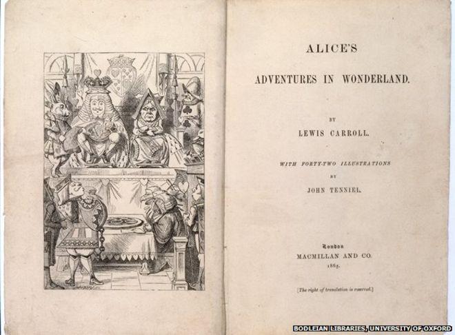 """150 jaar geleden: """"Alice in wonderland"""" verschijnt"""