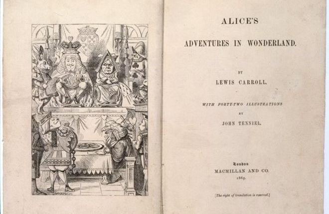 """155 jaar geleden: """"Alice in wonderland"""" verschijnt"""
