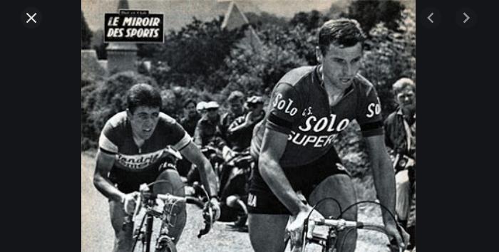 55 jaar geleden: Rik Van Looy komt tweemaal als eerste boven op een col maar Guido Reybrouck wint derit