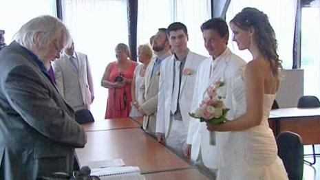 Vijf jaar geleden: huwelijk van de zoon van JacquesAnquetil
