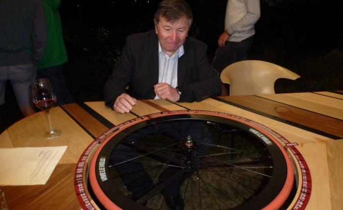 """Vijf jaar geleden: Temse present op """"Vive le vélo"""" in Valloire (voetGalibier)"""