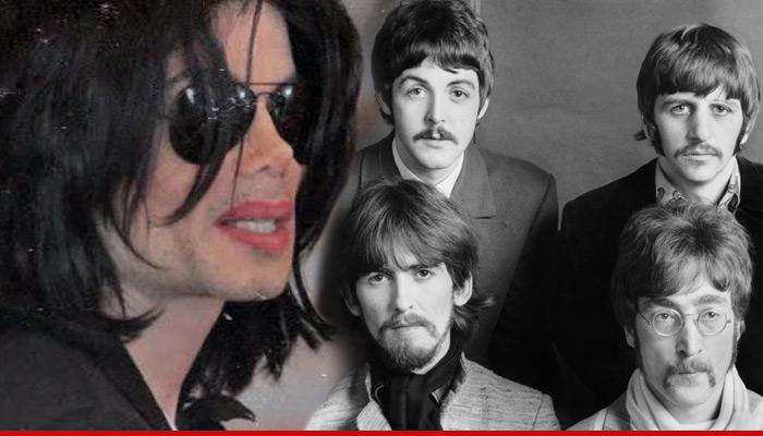 35 jaar geleden: Michael Jackson koopt de Beatles-catalogus