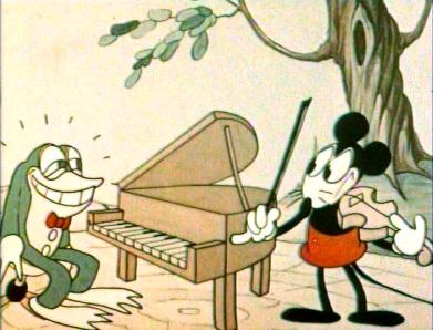 Negentig jaar geleden: de eerste tekenfilm met geluid en inkleur