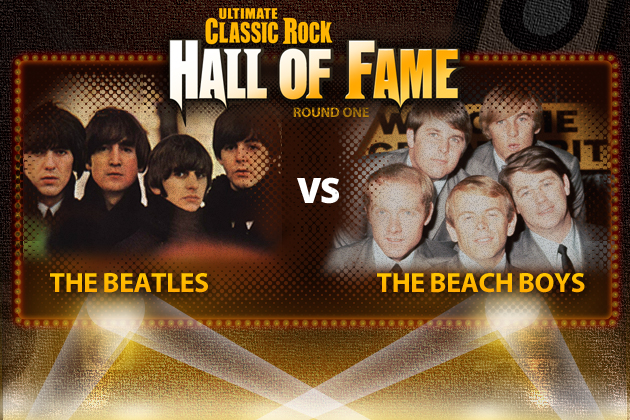 55 jaar geleden: The Beach Boys wonen concert van The Beatlesbij