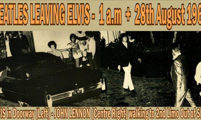 55 jaar geleden: The Beatles ontmoeten ElvisPresley