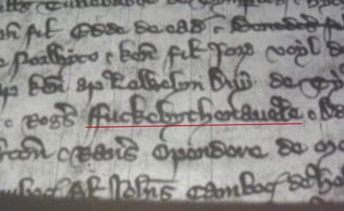 Engelse taal dankt 'Fuck' aan Middeleeuwer Roger Fuckebythenavele