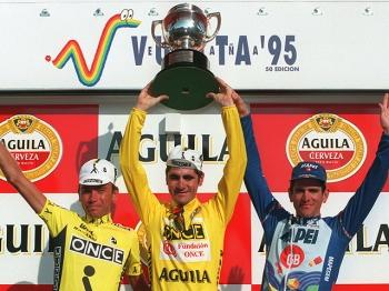 25 jaar geleden: Laurent Jalabert wint deVuelta