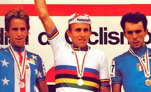 35 jaar geleden: Joop Zoetemelk wordt wereldkampioen op 39-jarigeleeftijd