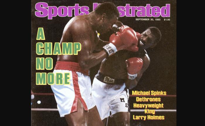 35 jaar geleden: Michael Spinks is de eerste niet-zwaargewicht die wereldkampioen wordt bij dezwaargewichten