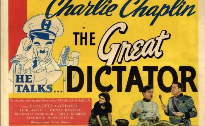 """Tachtig jaar geleden: première van """"The GreatDictator"""""""