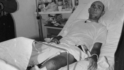 25 jaar geleden: Marco Pantani botst tegenauto…
