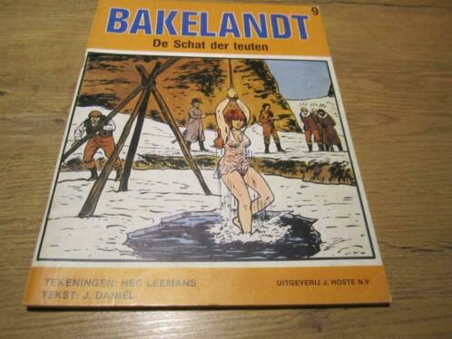 45 jaar geleden: eersteBakelandt-strip