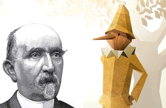 Carlo Collodi (1826-1890): een neus voor een goedverhaal!