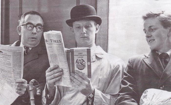 """55 jaar geleden: """"Lady Chatterley's Lover"""" is niet in strijd met The Obscene PublicationsAct"""