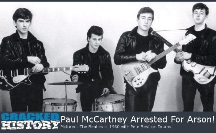 Zestig jaar geleden: Paul McCartney, debrandstichter