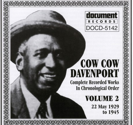 Cow Cow Davenport(1894-1955)
