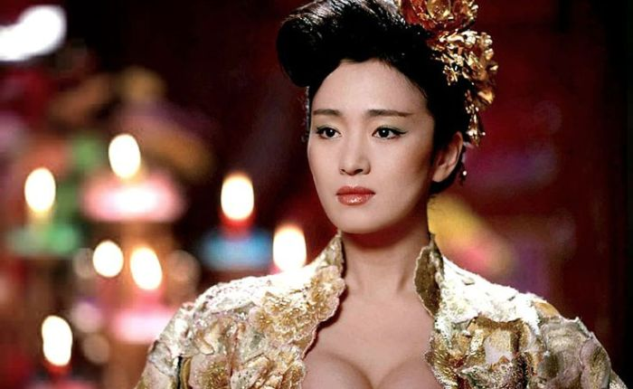 Gong Li wordt55…