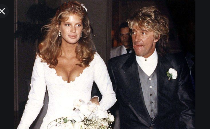 Dertig jaar geleden: het huwelijk van Rod Stewart met RachelHunter