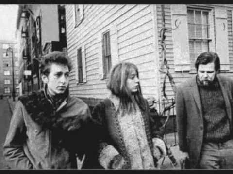 bob dylan en dave van ronk in 1963